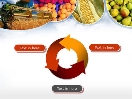 Corn Harvester PowerPoint Template Slide 9