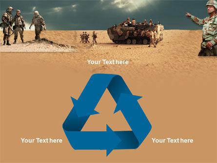 Desert Operation PowerPoint Template Slide 10