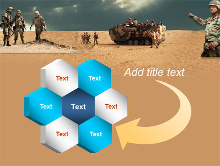 Desert Operation PowerPoint Template Slide 11