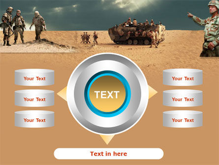Desert Operation PowerPoint Template Slide 12