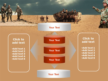 Desert Operation PowerPoint Template Slide 13