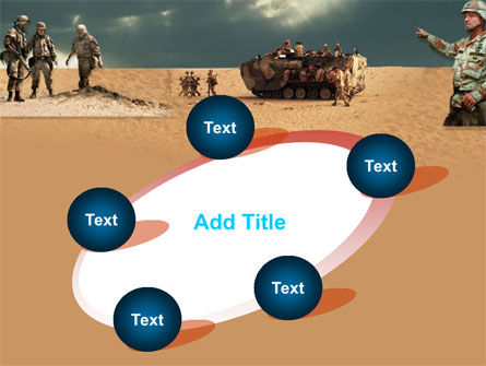 Desert Operation PowerPoint Template Slide 14