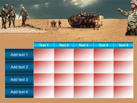 Desert Operation PowerPoint Template Slide 15