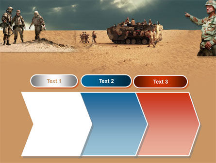 Desert Operation PowerPoint Template Slide 16