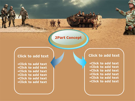 Desert Operation PowerPoint Template Slide 4