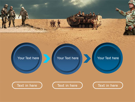 Desert Operation PowerPoint Template Slide 5