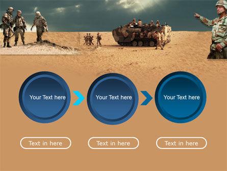 Desert Operation PowerPoint Template Slide 5