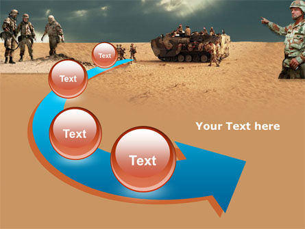Desert Operation PowerPoint Template Slide 6
