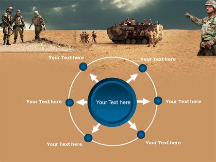 Desert Operation PowerPoint Template Slide 7