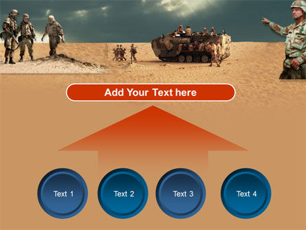 Desert Operation PowerPoint Template Slide 8