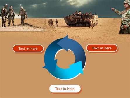 Desert Operation PowerPoint Template Slide 9