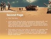 Desert Operation PowerPoint Template#2