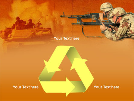 US Army Operations PowerPoint Template Slide 10