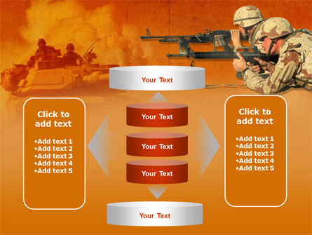 US Army Operations PowerPoint Template Slide 13