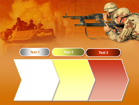 US Army Operations PowerPoint Template Slide 16