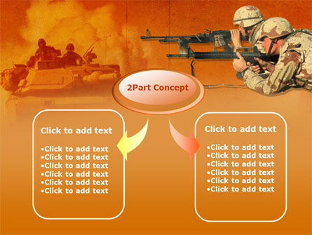 US Army Operations PowerPoint Template, Slide 4, 00190, Military — PoweredTemplate.com