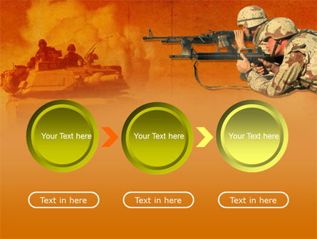US Army Operations PowerPoint Template Slide 5