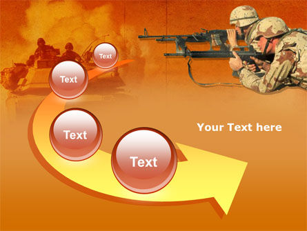 US Army Operations PowerPoint Template Slide 6