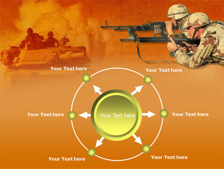 US Army Operations PowerPoint Template Slide 7