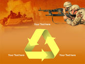 US Army Operations PowerPoint Template#10