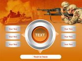 US Army Operations PowerPoint Template#12