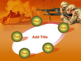 US Army Operations PowerPoint Template#14