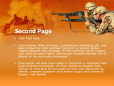 US Army Operations PowerPoint Template#2