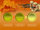 US Army Operations PowerPoint Template#5