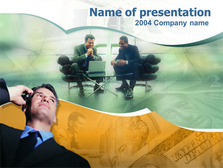 Careers/Industry: Business Contacts PowerPoint Template #00193