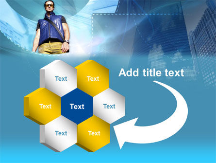 Modern Person PowerPoint Template Slide 11