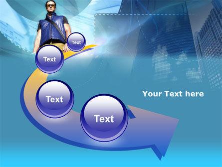 Modern Person PowerPoint Template Slide 6