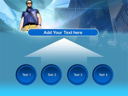 Modern Person PowerPoint Template Slide 8
