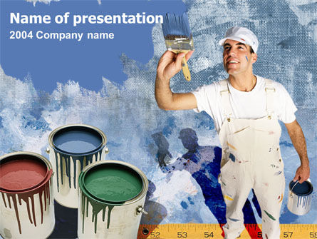 Home Repainting PowerPoint Template
