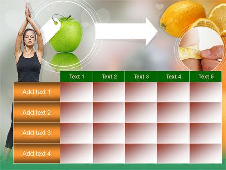 Slimming Tips PowerPoint Template Slide 15