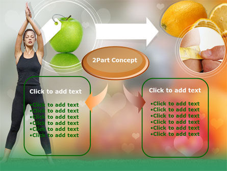 Slimming Tips PowerPoint Template, Slide 4, 00202, Sports — PoweredTemplate.com