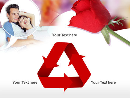 Happy Couple PowerPoint Template Slide 10