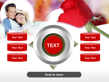 Happy Couple PowerPoint Template Slide 12