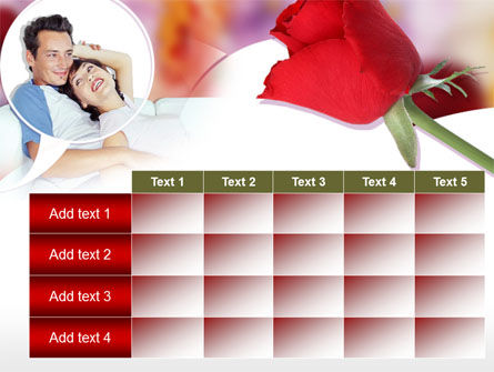 Happy Couple PowerPoint Template Slide 15