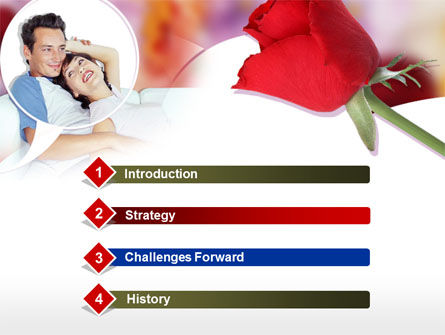 Happy Couple PowerPoint Template Slide 3