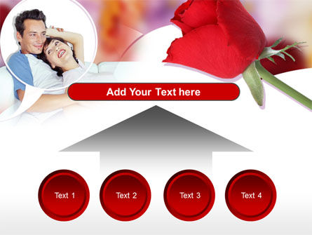 Happy Couple PowerPoint Template Slide 8