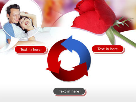Happy Couple PowerPoint Template Slide 9