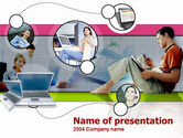 Technology and Science: Business Online PowerPoint Template #00206
