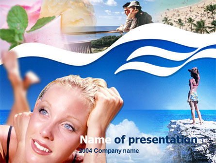 Free PowerPoint Backgrounds: Summer Memories Free PowerPoint Template #00207
