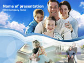 People: Familie Tijd PowerPoint Template #00209