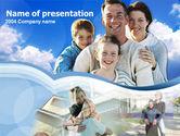 People: 家族の時間 - PowerPointテンプレート #00209