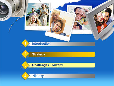 Photo Memories PowerPoint Template, Slide 3, 00210, Technology and Science — PoweredTemplate.com