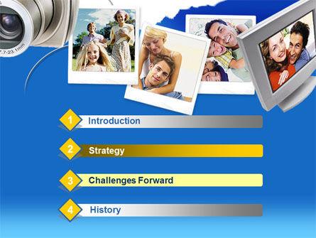 Photo Memories PowerPoint Template Slide 3