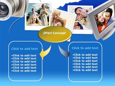 Photo Memories PowerPoint Template, Slide 4, 00210, Technology and Science — PoweredTemplate.com