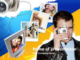 Technology and Science: Photo Memories PowerPoint Template #00210