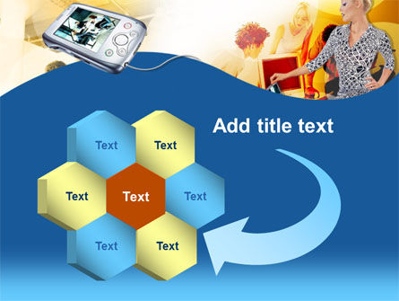 Modern Gadgets Free PowerPoint Template Slide 11